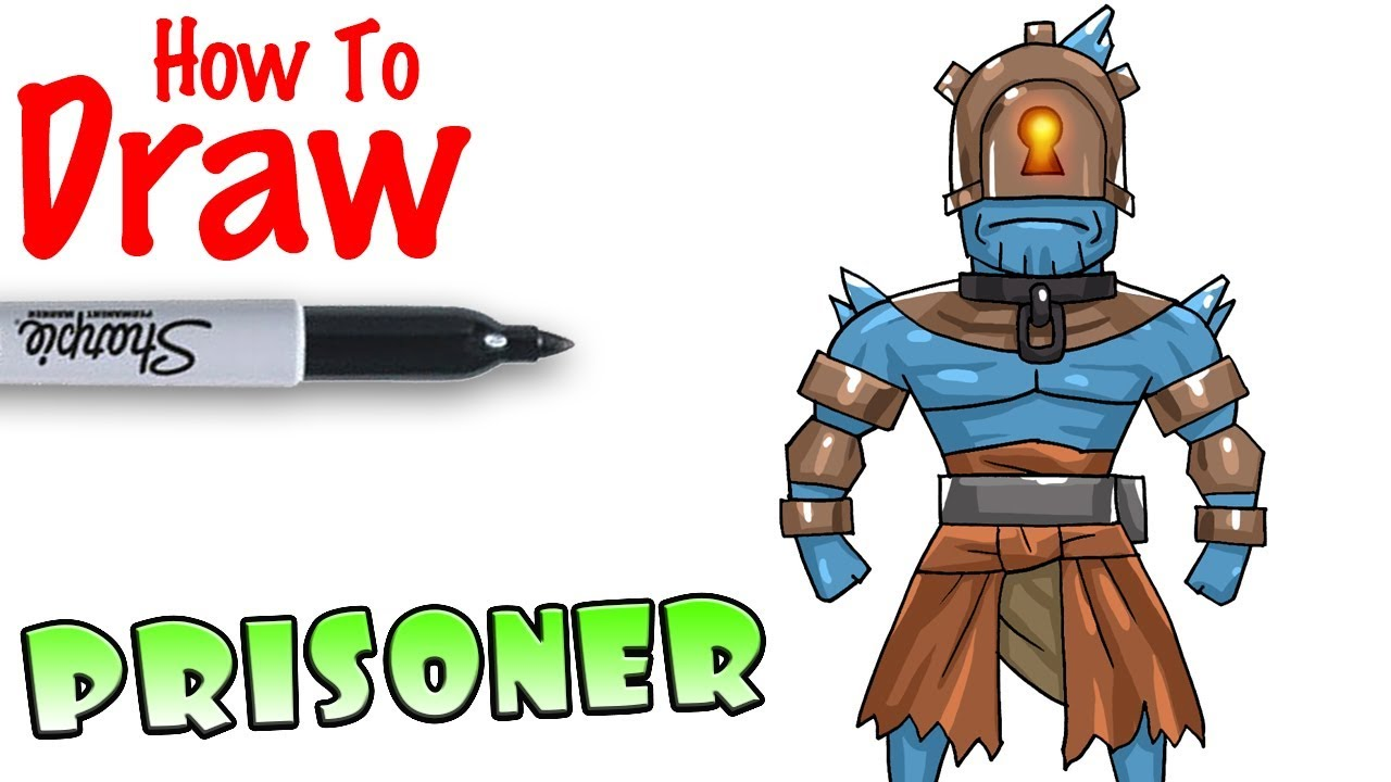 How To Draw The Prisoner Fortnite