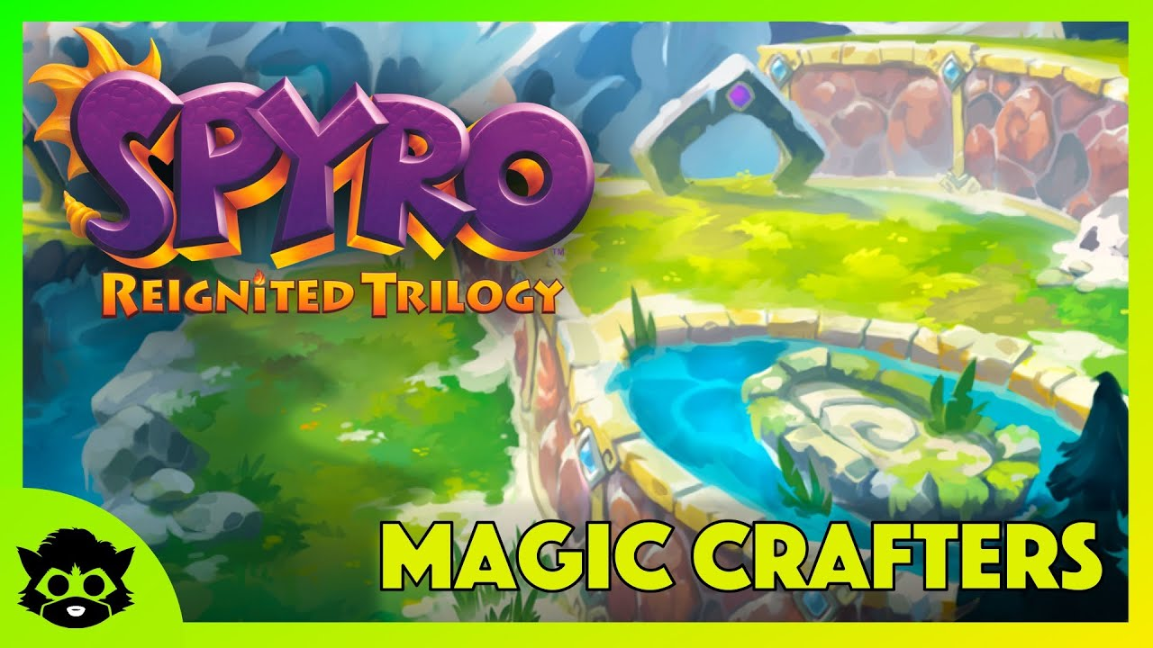 Spyro 1 Reignited Part 13 Magic Crafters Home 100 All Gems