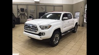 2018 Toyota Tacoma Limited Review
