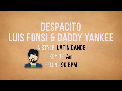 Despacito - Karaoke Gig Backing Track