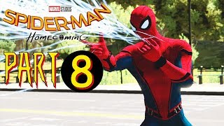 Spider-man Homecoming - Main Story Part 8 - The Amazing Spider-man 2 (PC) MOD