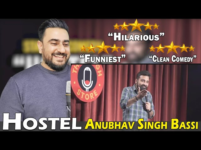 Hostel - Stand Up Comedy ft. Anubhav Singh Bassi   Pakistani Reaction