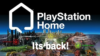 Exploring PS Home Offline in 2020! (PlayStation Home is Back)