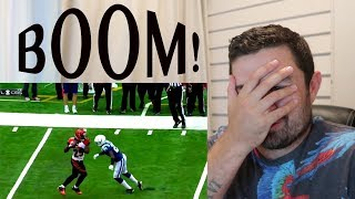 Rugby Fan Reacts to Biggest Baddest NFL Football Hits!