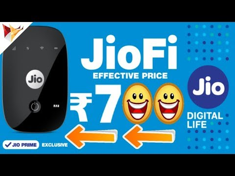 Reliance Jiofi Now at Rs.700 with 8 Months Free Subscription | Data Dock