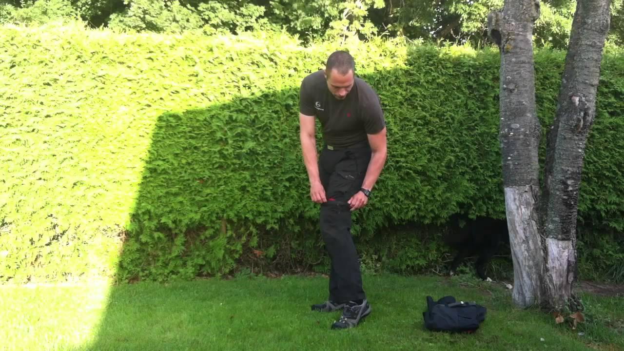 Fjällräven Abisko Trousers Youtube Bukser Zip Off R4q4tv