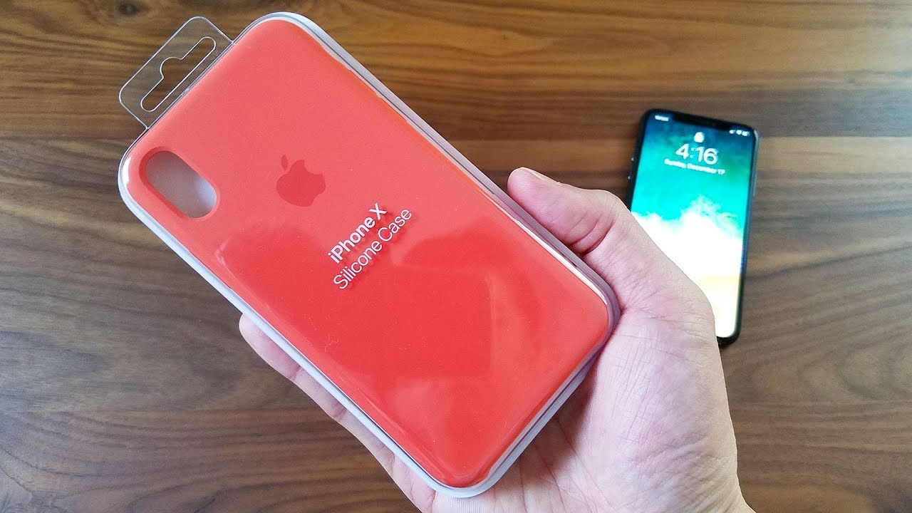 huge discount d4434 52b6a iPhone X Spicy Orange Silicon Case