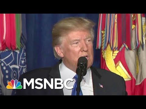 Thumbnail: Lawrence: Donald Trump Announced He Won't Announce Troop Increase | The Last Word | MSNBC