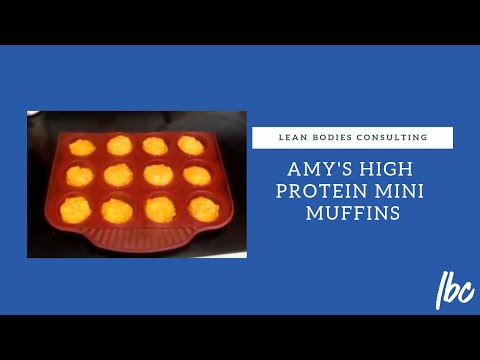 Amy's High Protein Mini Muffins
