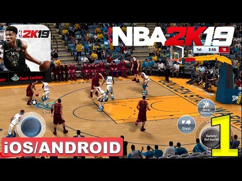 NBA 2K19 - ANDROID / IOS GAMEPLAY #1