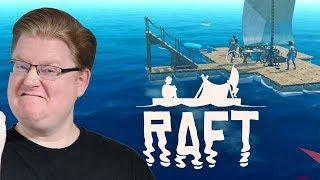 Baixar Viel zu komplizierter Treppenbau 🎮 Raft #2