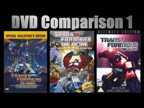 Transformers: The Movie DVD Comparison - Part 1: Packaging & Transfer Quality