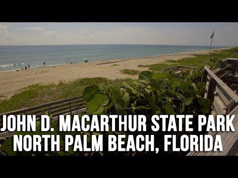 Beach Access - John D. MacArthur State Park, North Palm Beach, FL