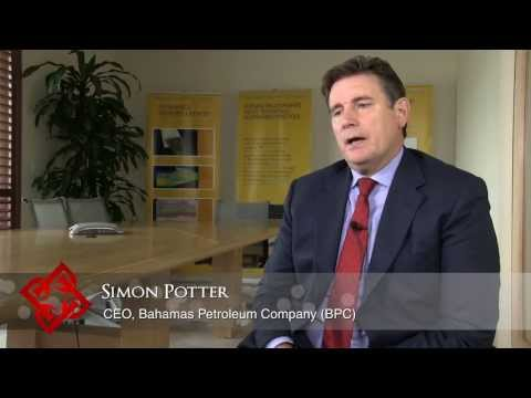 Bahamas Petroleum Company (BPC) CEO Simon Potter on the search for oil in Bahamian waters