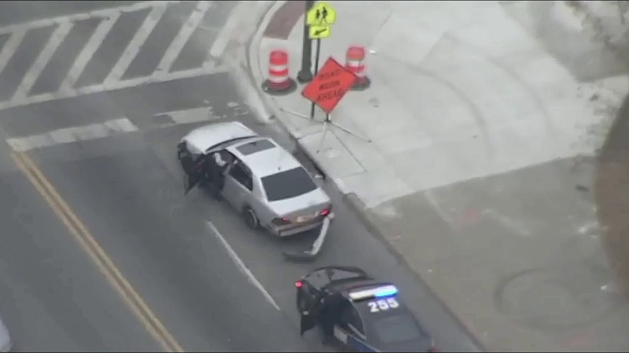 Police Chase In Baltimore