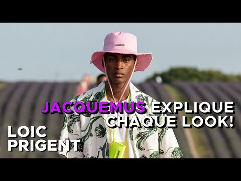JACQUEMUS TELLS ALL! by Loic Prigent