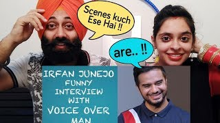 Indian Reaction on Irfan Junejo interview with VOICE OVER MAN | PunjabiReel TV