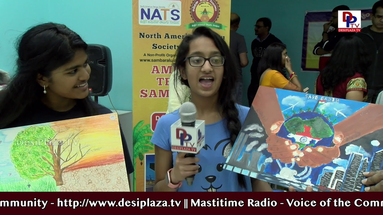 America Telugu Sambaralu 2019 l Arts Competition l NATS l Highlights