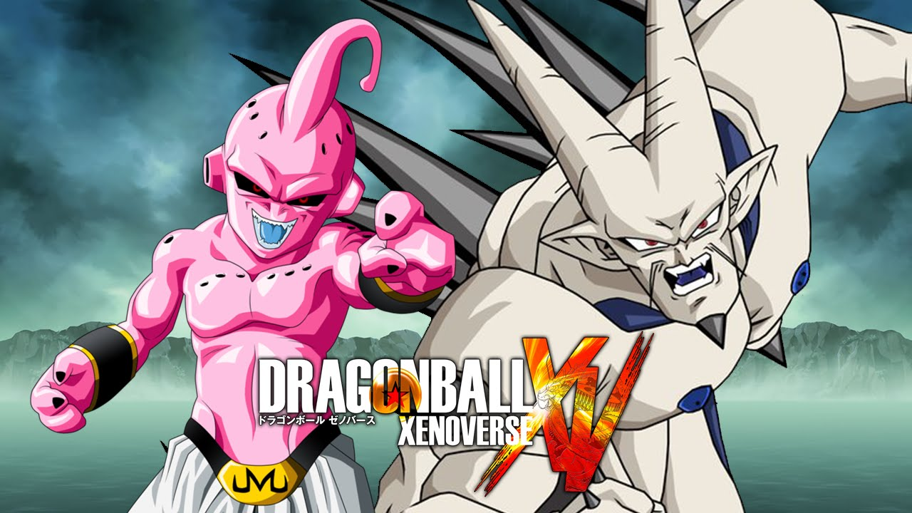 Omega Shenron Vs Kid Buu Kid Buu VS Omeg...
