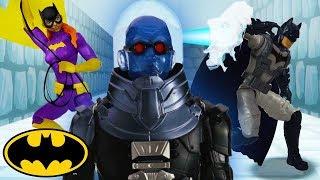 Ice Maze | Batman Missions: Stop-Motion Adventures | DC Kids