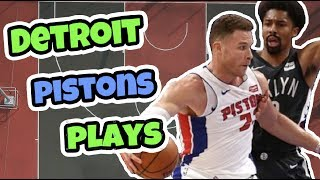 Top 5 Detroit Pistons Basketball Plays