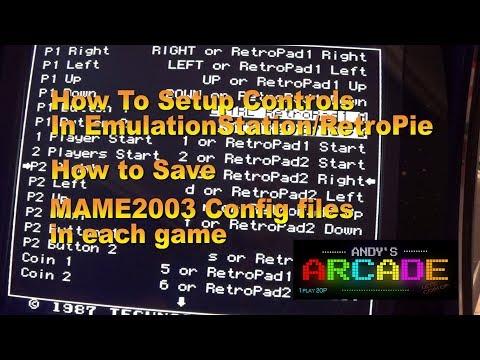 Game Controls Setup/ Mame2003 Config Controls Setup  in RETROPIE