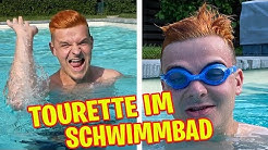 Tourette im Schwimmbad
