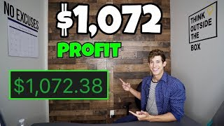 HOW I MADE $1,072 PROFIT DAY TRADING ETF