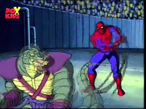 Spiderman the Animated Series - SPIDERMAN VS THE LIZARD ...