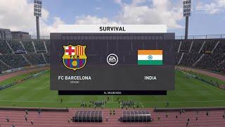 Fifa 20 fc barcelona vs india/survival ...