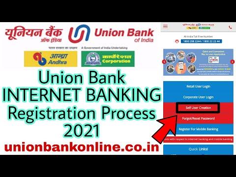 Union Bank INTERNET BANKING Registration Process 2021 | Internet Banking Union Bank of India