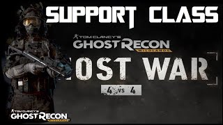 Ghost Recon: Ghost War PvP - HOW TO PLAY SUPPORT CLASS | PS4 Pro
