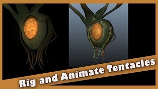 Rig and Animate Tentacles in Maya