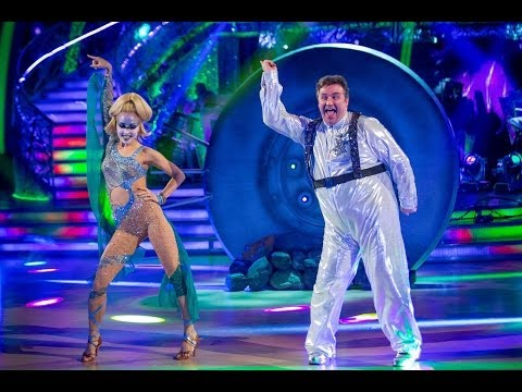 Mark Benton dances to 'I Lost My Heart To A Starship Trooper'  Strictly Come Dancing  BBC One