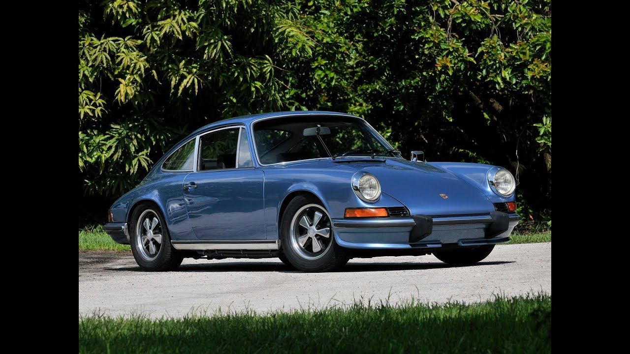 1973 porsche 911 s 2 4 coupe youtube. Black Bedroom Furniture Sets. Home Design Ideas