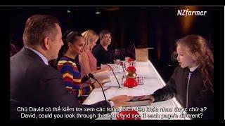 (English+Vietsub) Issy Simpson, ảo thuật gia nhỏ tuổi của Britain's Got Talent 2017