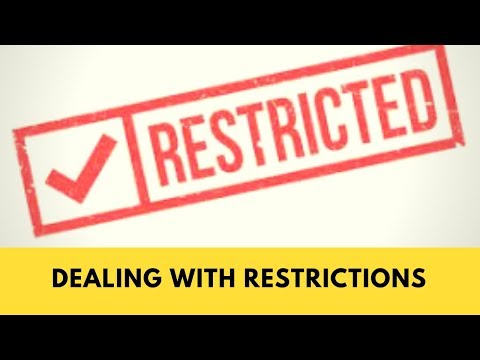 Amazon FBA for Beginners:  Restrictions, and how to deal with them