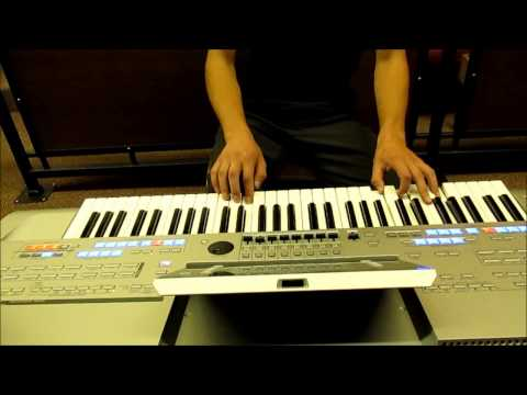 For The Peace In Israel - Shema Israel By Sarit Hadad - Improvisation On Tyros 4