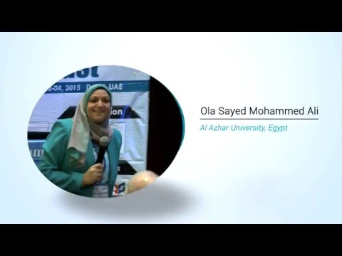 Ola Sayed Mohammed Ali | Egypt | Pharma Middle East 2015| Conference Series LLC