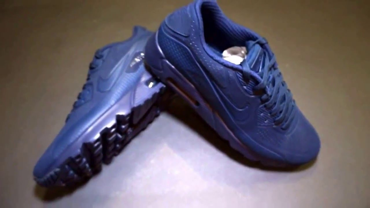 new concept 8f954 a9b5e Nike Air Max 90 Ultra Moire Midnight Navy