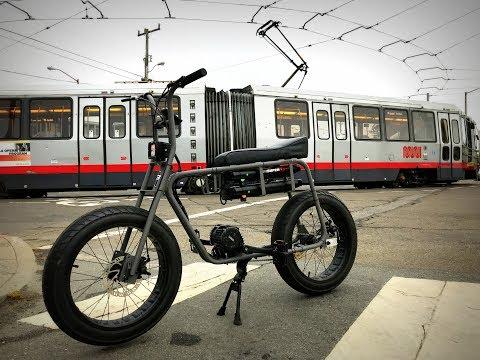 San Francisco Crosstown on Lithium Cycles Super 73 Adventure + GoPro Hero 5 Black