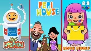 Pepi Hospital Pepi Super Stores and Pepi House - Best Pepi Play App for Kids