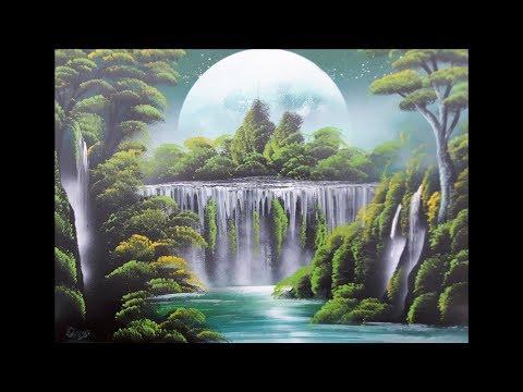 Spray paint art – Niagara falls – made by street artist