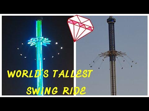 World's Tallest Swing @Bollywood Park Dubai – SKYFLYER