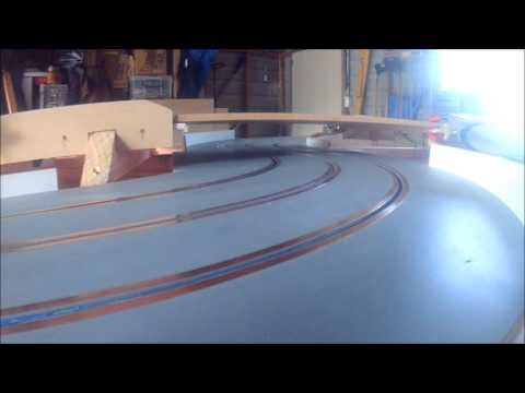 slot car track wiring trial 1 youtube. Black Bedroom Furniture Sets. Home Design Ideas