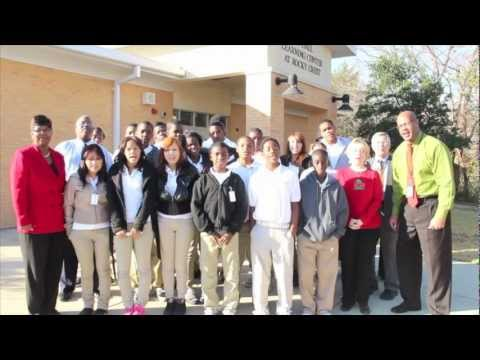 Lancaster ISD: JD Hall Learning Center 2012 Holiday Card