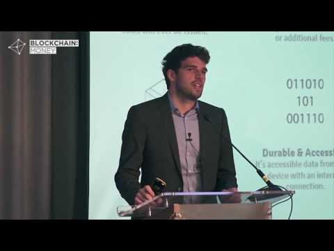 Marco Streng CEO at Genesis Mining   Blockchain  Money Conference London 2016