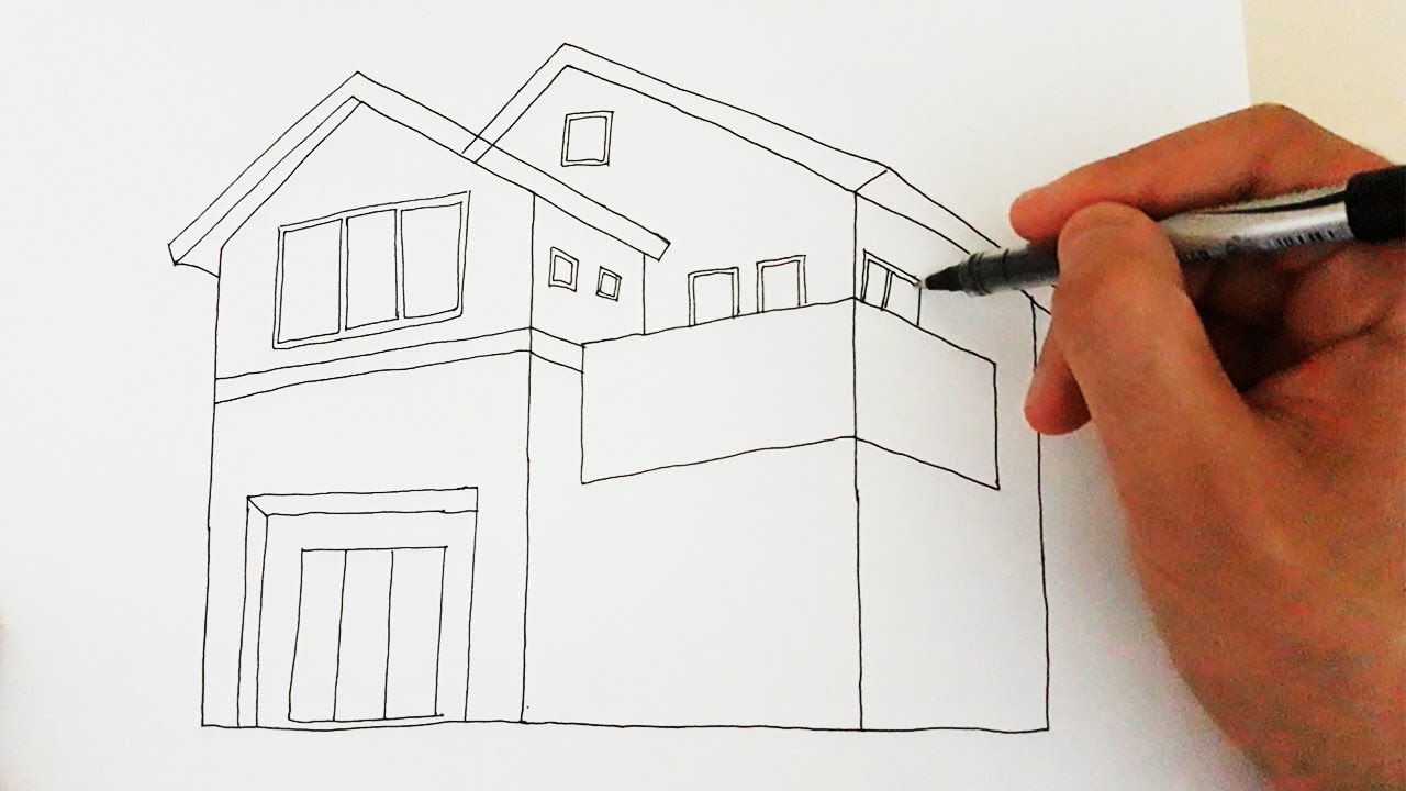 Ev Nasıl Çizilir / How to draw House