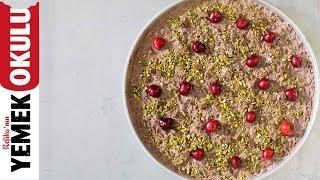Güllaç Sevmeyenlerin Fikrini Değiştiren, Çikolatalı Kirazlı Güllaç | Ramazan Yemekleri
