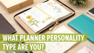What Planner Personality Type Are You?